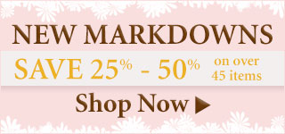 Save 35%-50% on New Markdowns!