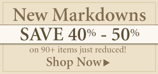 Save 40%-50% on New Markdowns!