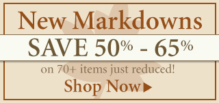Save 50%-65% on New Markdowns!