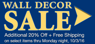 Wall Accent Sale