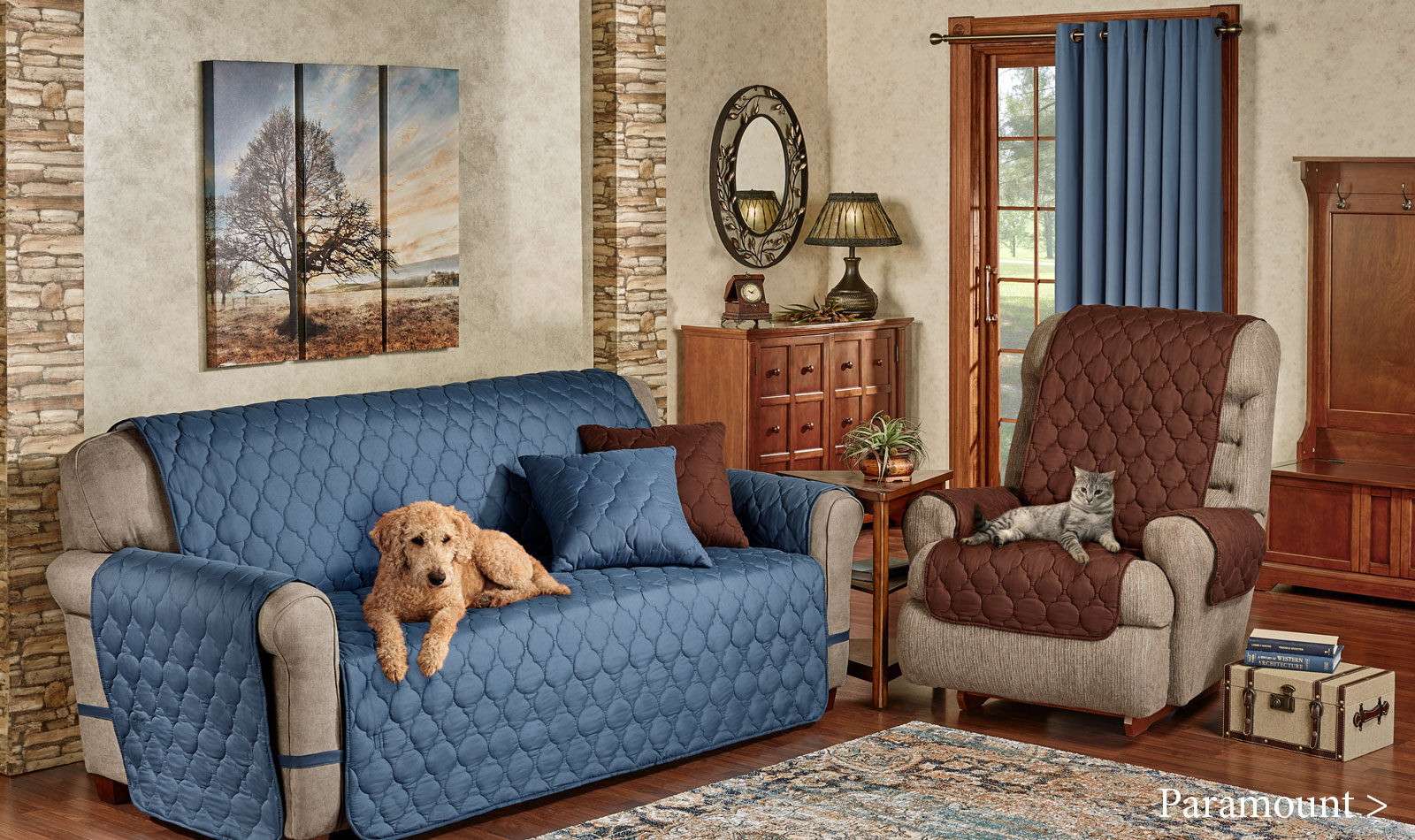 Get The Look - Paramount Living Room - Furniture Covers