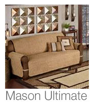 Get The Look - Living Room - Mason Ultimate Furniture Covers Camel