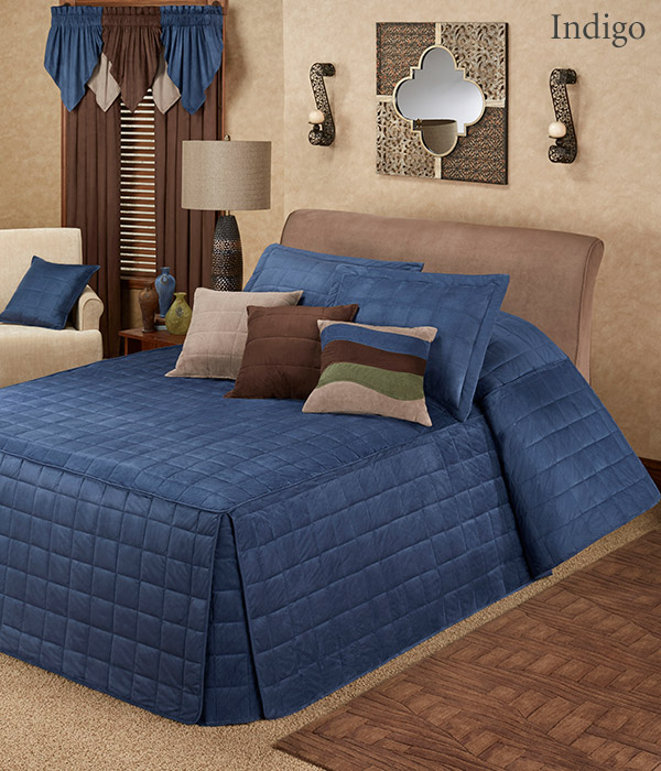Get The Look - Camden Indigo Blue Grande Bedspread