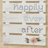 Pallet Style Sign