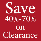Shop Clearance - Now 40% to 70% Off