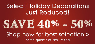 Holiday Markdowns