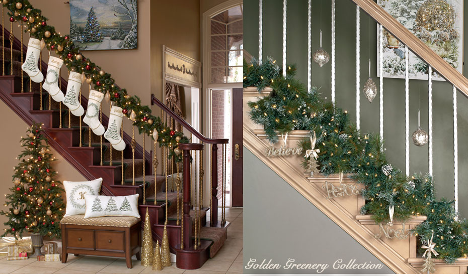 New for 2017 - The Golden Greenery Christmas Collection