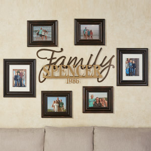 Signature Family Wall Art Sign