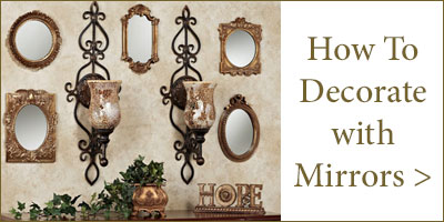 Decorating with Wall Mirrors