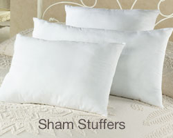 Restful Nights Sham Stuffer Sleep Pillows