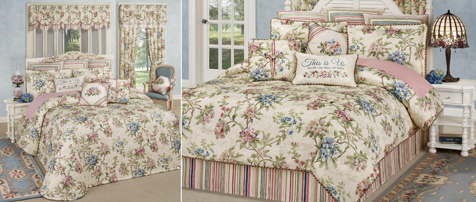 Get The Look - Chatsworth Cottage Floral Bedroom