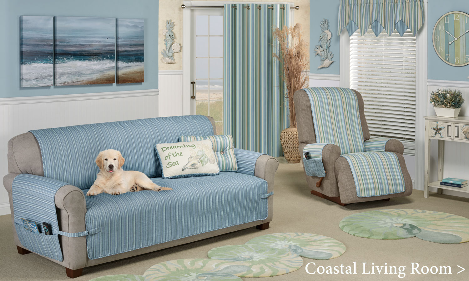 Coastal Style Decorating and Coastal Home Decorating Tips | Touch ...