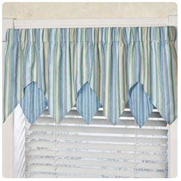 Coastal Window Treatment