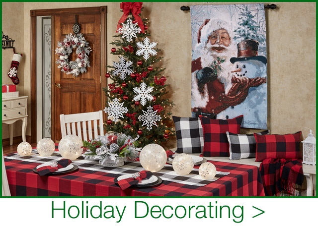 Get The Look - Holiday Decorating