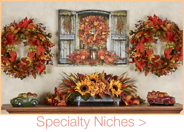 Get The Look - Specialty Rooms - Autumn Fireplace