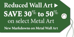 Save 30%-50% on Wall Art Just Reduced!