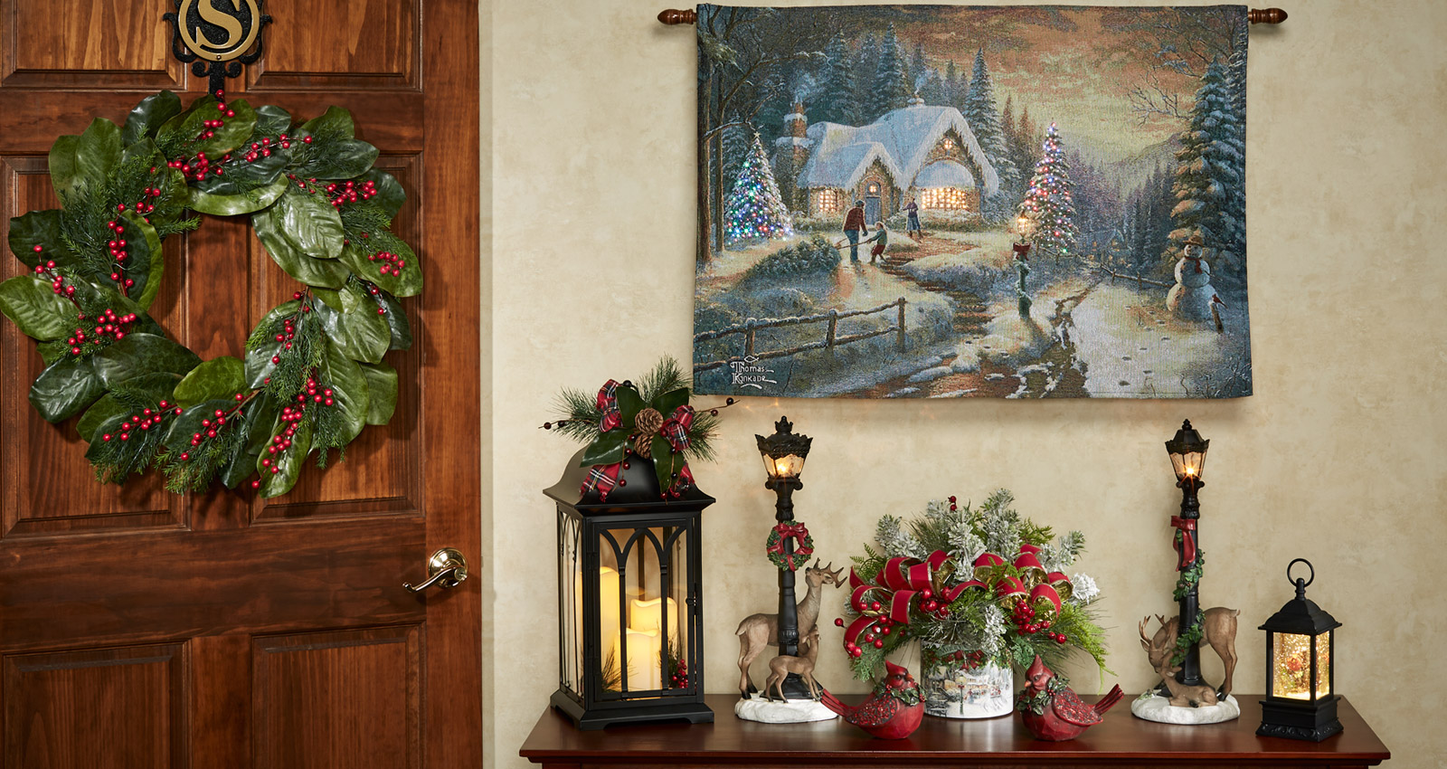 Decorating Style: Victorian Christmas