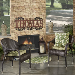 Get the Look - Legacy Outdoor Fireplace