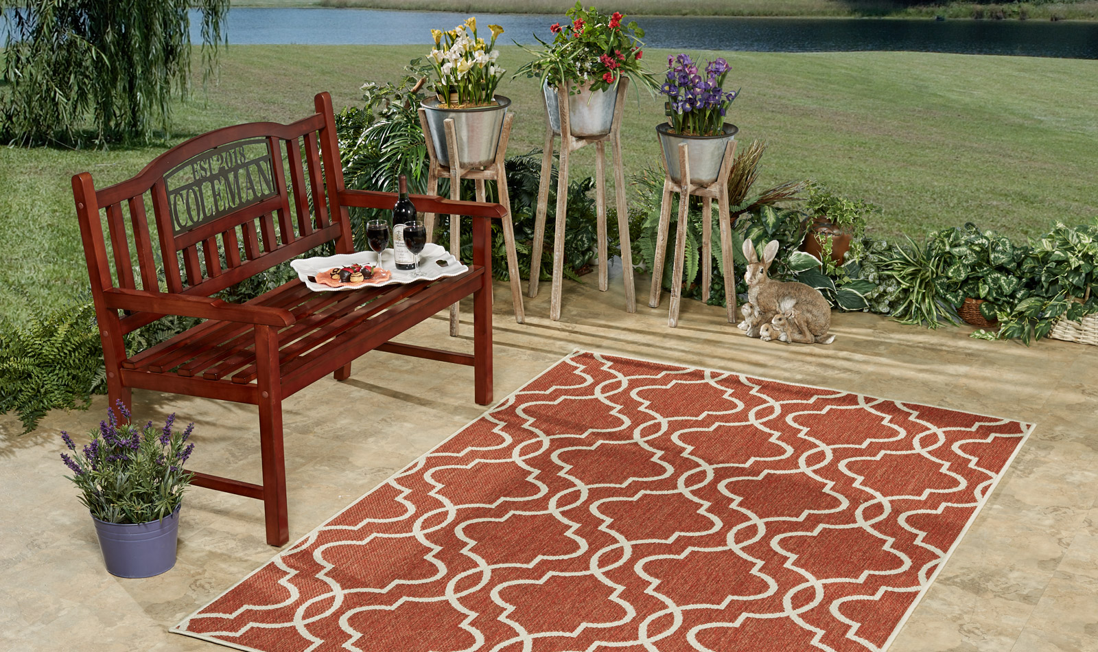Get the Look - Delphi Backyard Patio