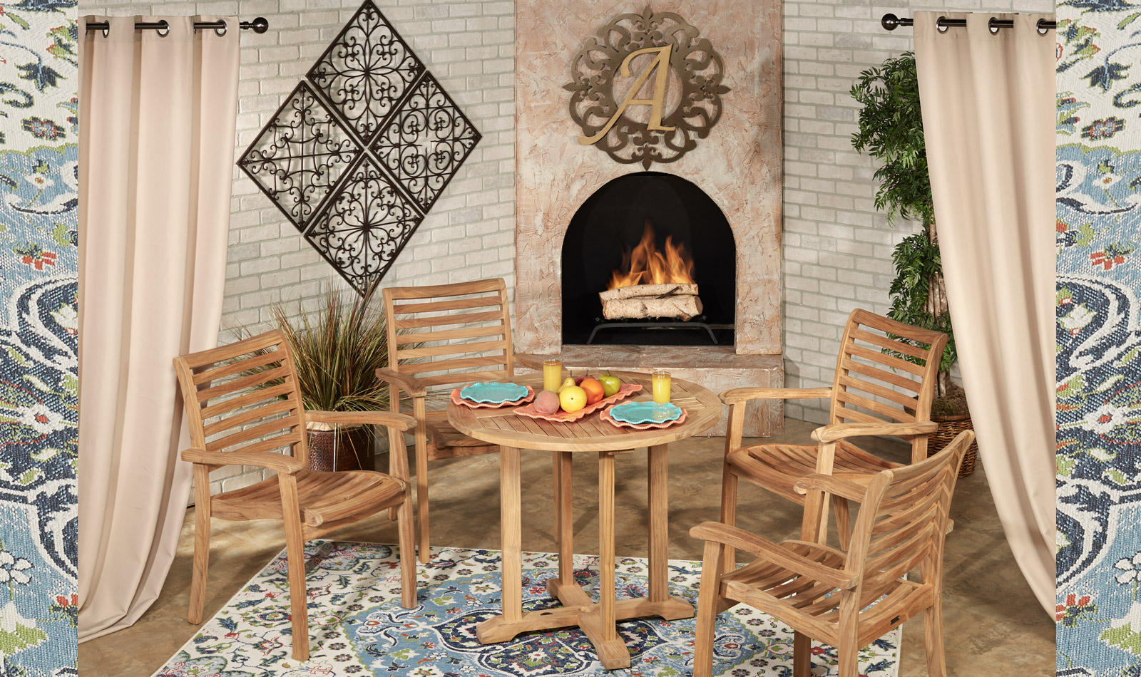 Get the Look - Oceana Teak Backyard Patio 3
