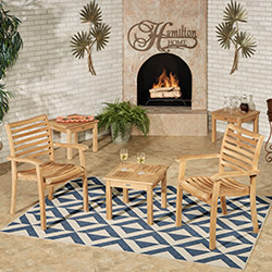 Get the Look - Oceana Teak Backyard Patio