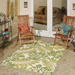 Get the Look - Palm Leaves Backyard Patio