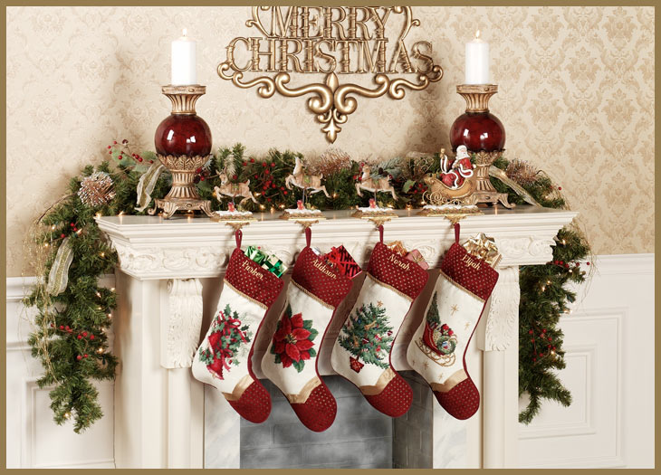 christmas stocking hangers for mantle australia holders fireplace ireland canada