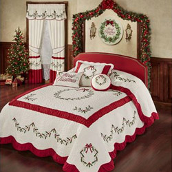 Get The Look - Holly Wreath Bedroom and Bath