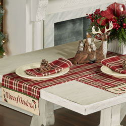 Get The Look - Merry Christmas Farmhouse Dining Room