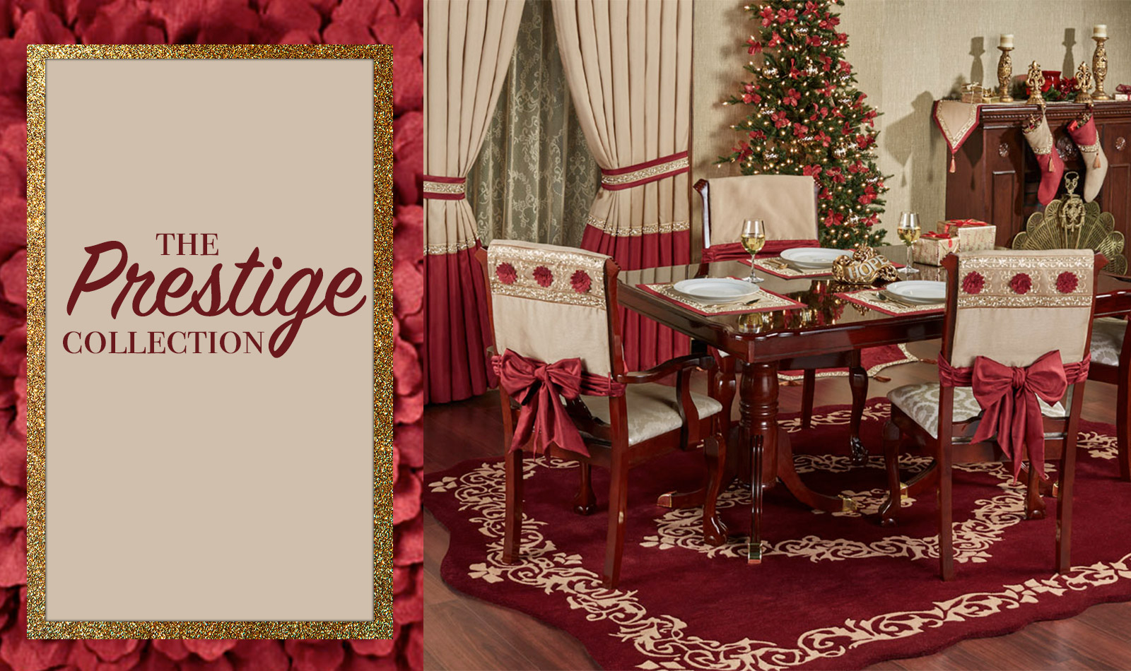 Get The Look - Prestige Holiday Dining Room