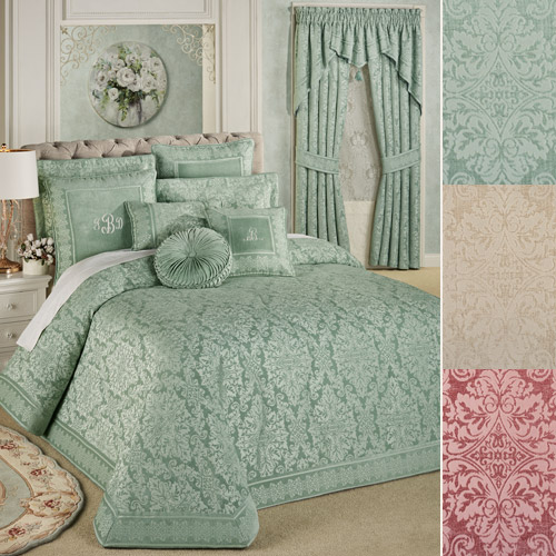 Grandview Throw-style Bedspread in three colors