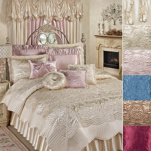 Prima Coverlet in five colors