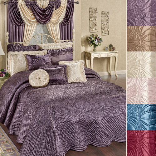 Portia Throw-style Bedspreads in six colors