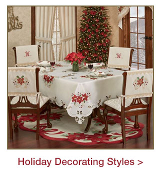 Introducing our Holiday Decorating Styles for 2017