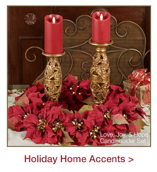 Holiday Home Accents