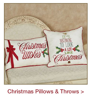 Christmas Pillows and Throws