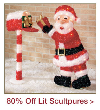 Lighted Christmas Sculptures