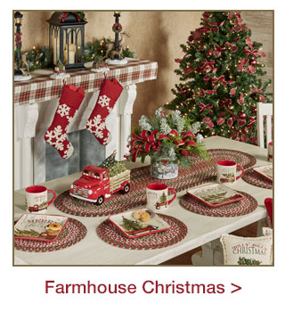 Decorating Style: Farmhouse Christmas