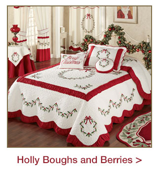 Holly Boughs and Berries
