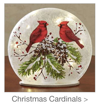 Decorating Style: Christmas Cardinals