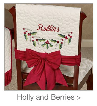 Decorating Style: Holly and Berries