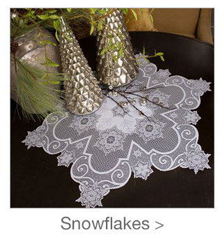 Decorating Style: Snowflakes