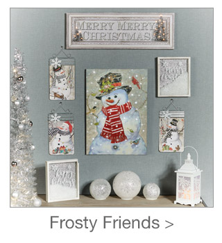 Decorating Style: Frosty Friends