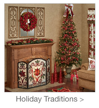 Decorating Style: Holiday Traditions