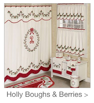 Decorating Style: Holly Boughs and Berries