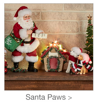 Decorating Style: Santa Paws