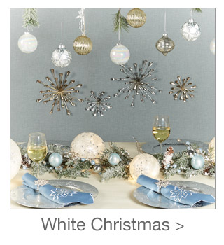 Decorating Style: White Christmas