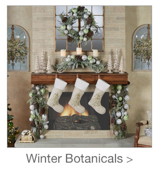 Decorating Style: Winter Botanicals