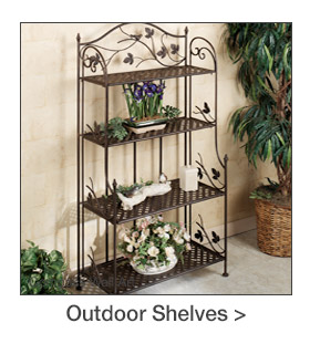 Outdoor Etageres and Shelves