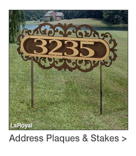 Address Plaques and Stakes